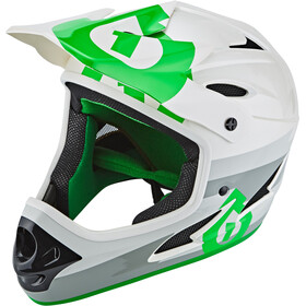 SixSixOne Comp Fullface Helm bolt grey/green